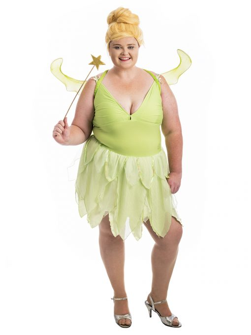 Tinkerbell Fairy Plus Size Costume, Tinkerbell Costume, Fairy Costume, Plus Size Costume, Plus Sized Costumes, peter pan costume