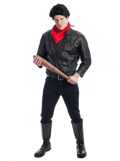 Negan Walking Dead Costume, Neagan costume, Negan Costume, Walking Dead Costume