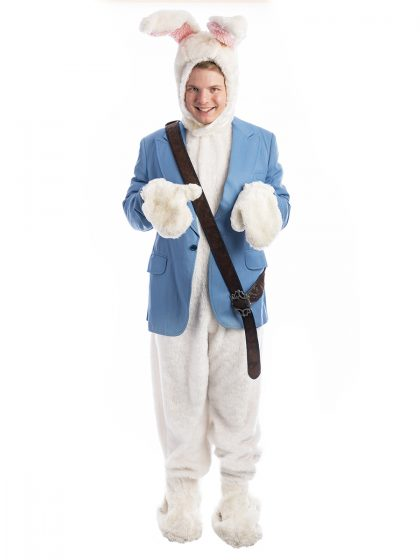 Peter Rabbit Costume, White Rabbit Costume, Beatrice Potter Costume, Bunny Costume
