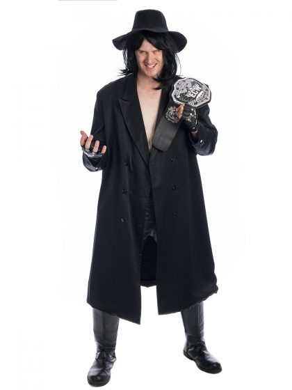 Undertaker Wrestler Costume, The Undertaker, WWE Costume, Undertaker costume, Wrestling Costume