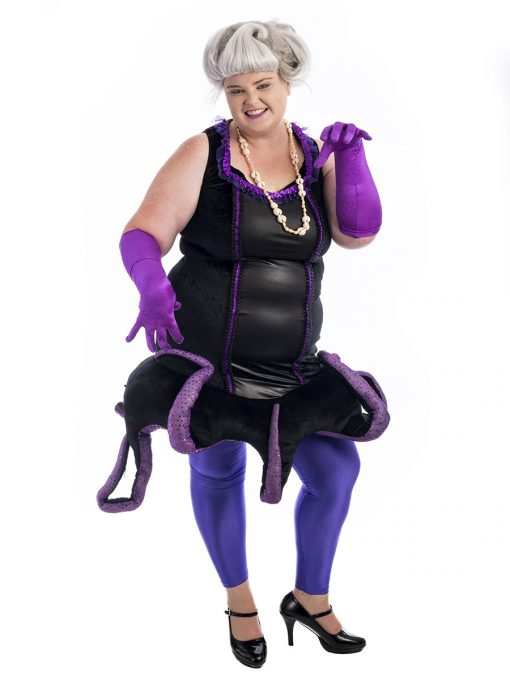 Ursula Plus Size Costume, Ursula, Little Mermaid, Urzula, Ursula Costume