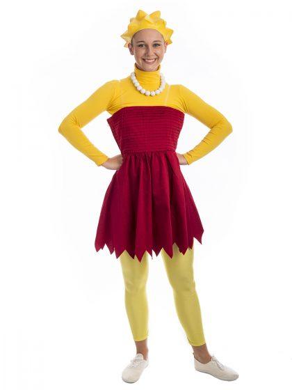 Lisa Simpson Costume, Lisa simpson, the simpson, springfield,