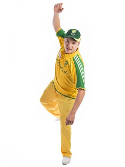 Aussie Cricket Costume, Cricketer, australian cricket team, Ricky Ponting
