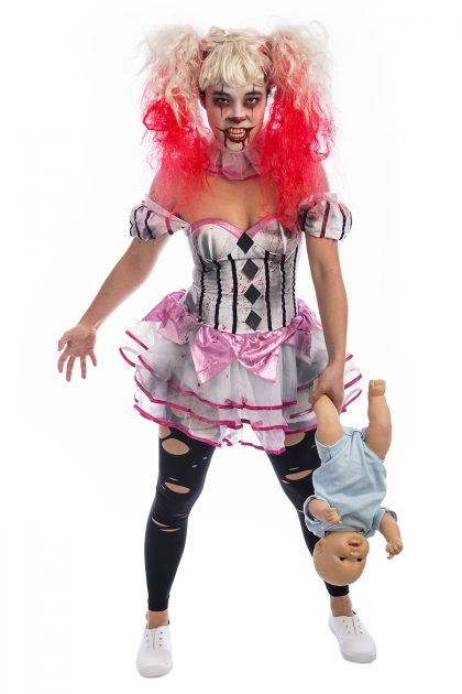 Killer Clown Cutie Costume, Pennywise, clown, circus, scary clown, IT, carnival
