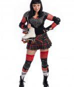 Roller Derby Girl Costume, Rollerskates, rollerblade, skater