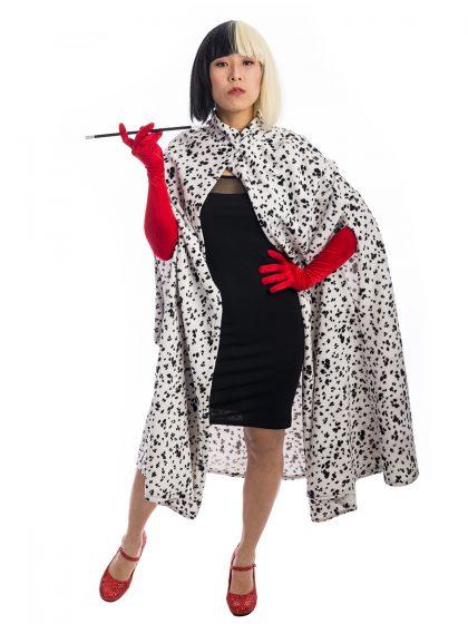 Cute Cruella De Vil Costume, Cruella devil, Cruella d'evile, 101 dalmatians, villain