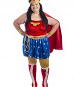 Wonder Woman Plus Size Costume, WW, DC, Superhero, Hero,