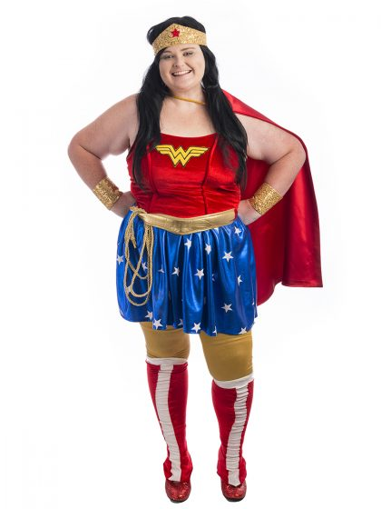 Wonder Woman Plus Size Costume, WW, DC, Superhero, Hero,