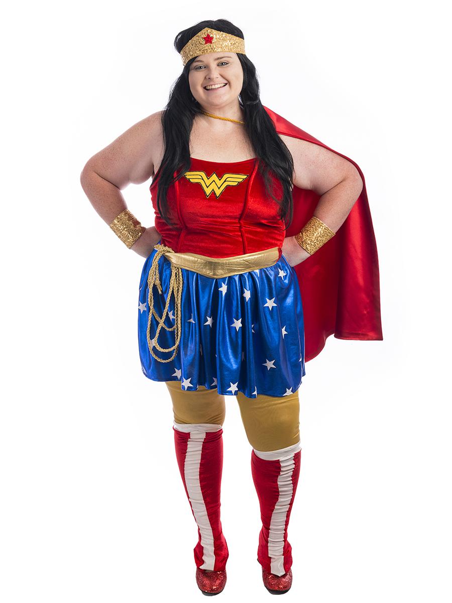 Wonder Woman Plus Size Costume Creative Costumes