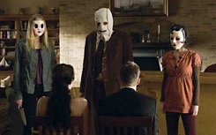 The strangers Halloween costumes.