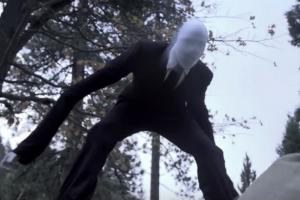 Slenderman halloween costume