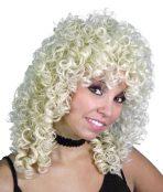 wig blonde glamour ringlets