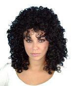 80s black wig