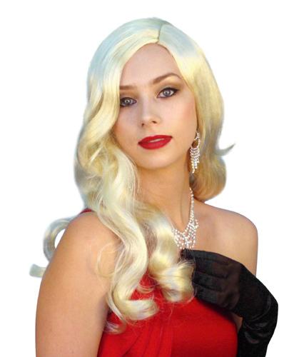 Rita 1940s blonde wig