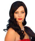 Rita 1940s black wig