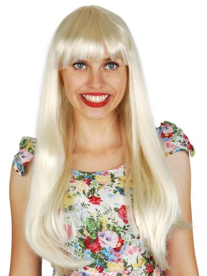 Jessica long blonde wig