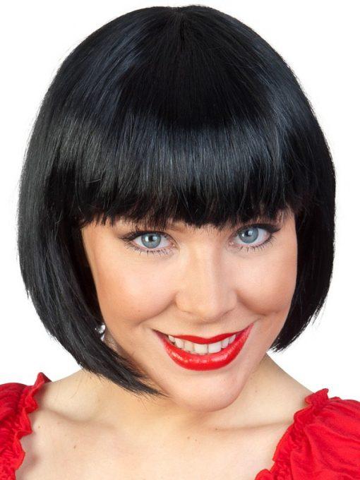 Paige black wig