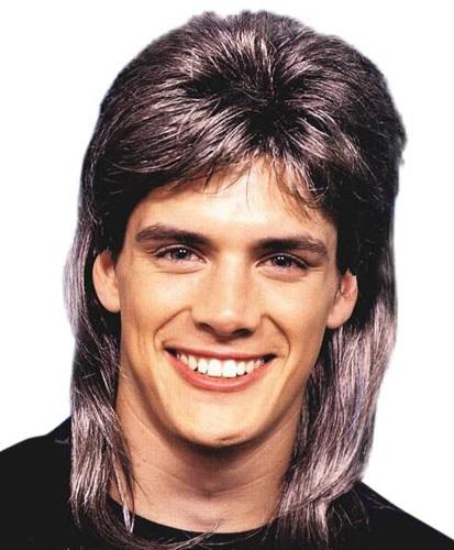 80 s mullet wig