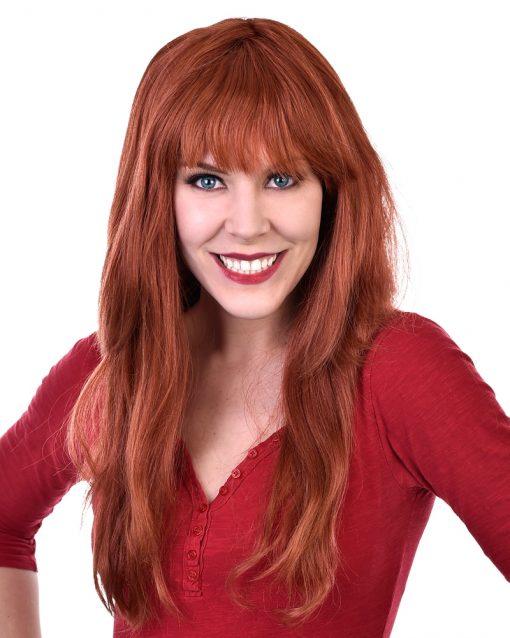 Jessica red wig
