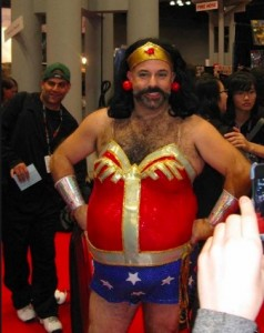 cross dress wonder woman