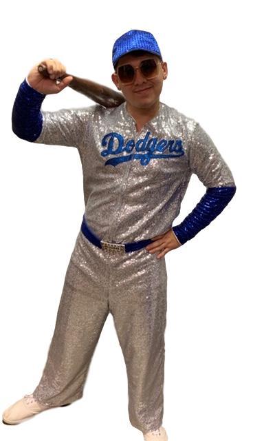 Elton John Baseball Costume