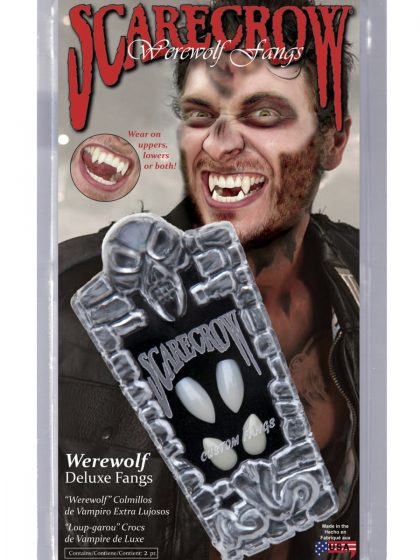 Scarecrow Werewolf Deluxe Fangs