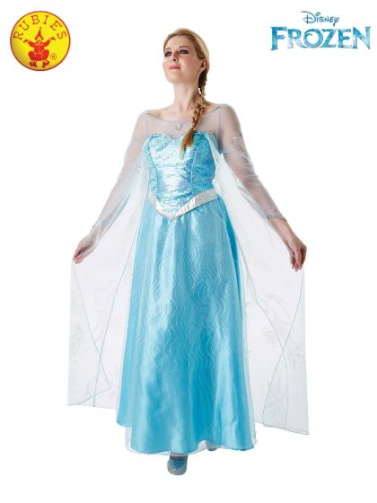 Elas frozen costume
