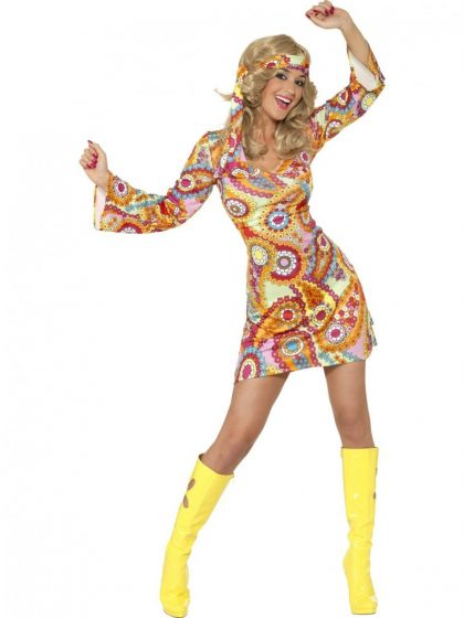 1960s Hippy girl costume