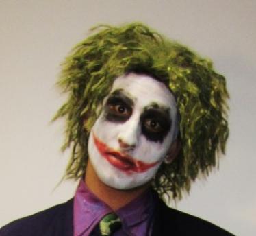 Heath Ledger Joker wig