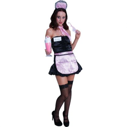 1950's Soda Pop Girl Costume Kit