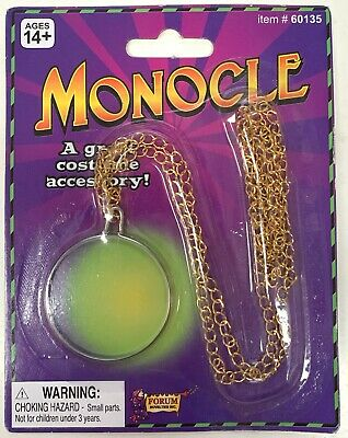 Gold monocle