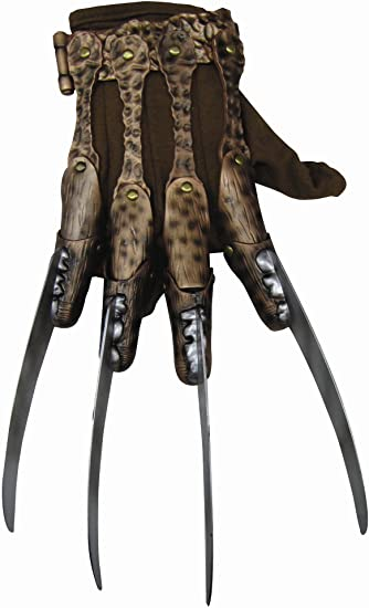 A Nightmare on Elm Street Freddy Krueger Deluxe Glove Men's Costume Accessory