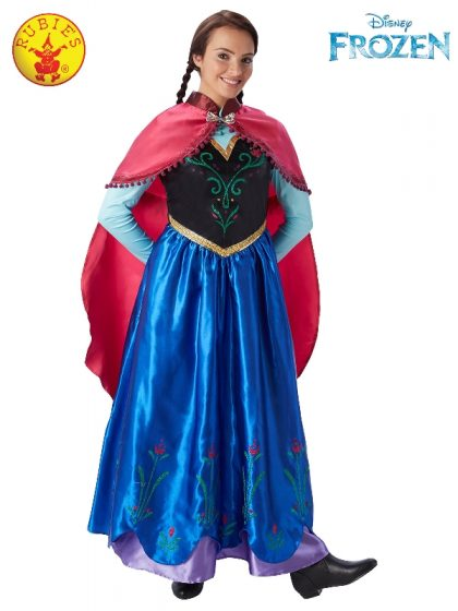 ANNA DELUXE COSTUME, ADULT
