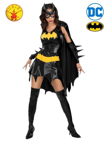 BATGIRL SECRET WISHES COSTUME, ADULT