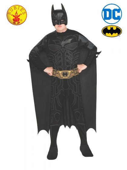 BATMAN DARK KNIGHT CLASSIC COSTUME, CHILD