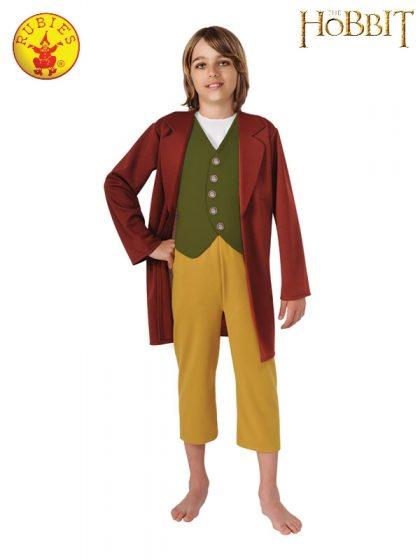 BILBO BAGGINS DELUXE COSTUME, CHILD
