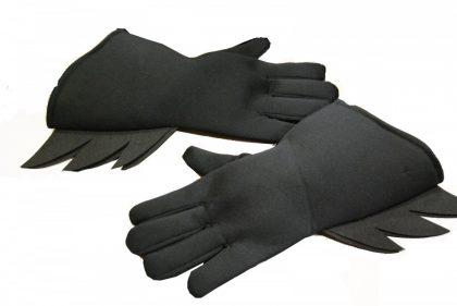 Batman Gloves - Black