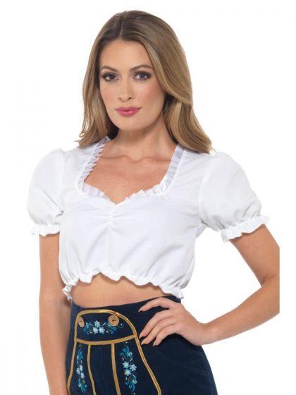 Bavarian Maid Crop Top