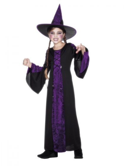 Black and Purple Bewitched Costume
