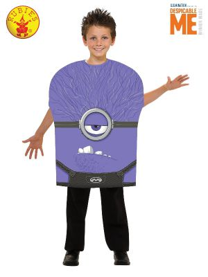 EVIL MINION FOAM COSTUME, CHILD