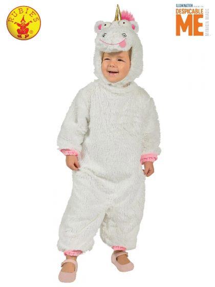 FLUFFY UNICORN COSTUME, CHILD