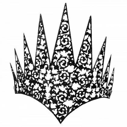 Face Crown - Black