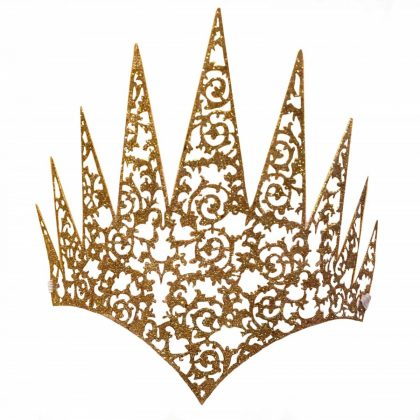 Face Crown - Gold