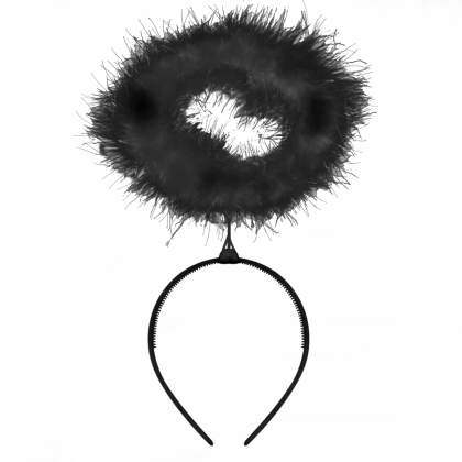 Feather Halo - Black