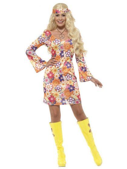 Flower Hippie Costume