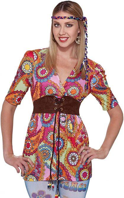 Forum Novelties Women's Generation Hippie Love Child Shirt
