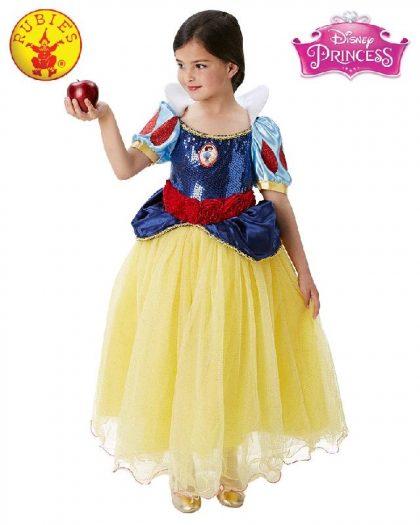 Girls Costume - Snow White Premium
