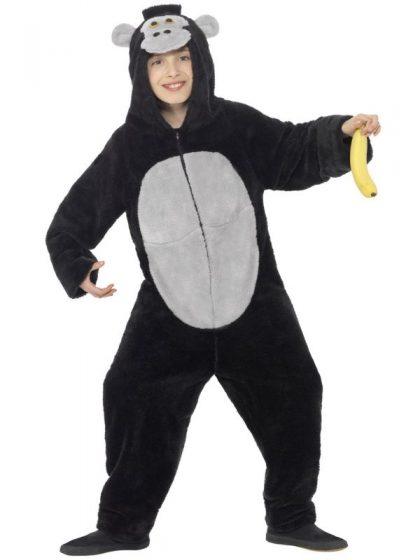 Gorilla One Piece Kids Animal Costume