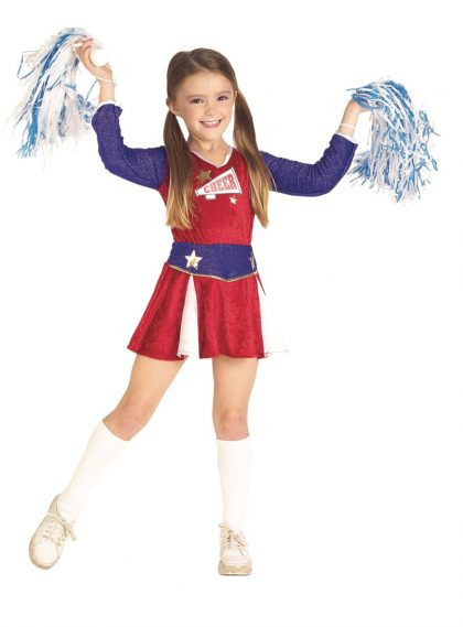 Kids Cheerleader Costume