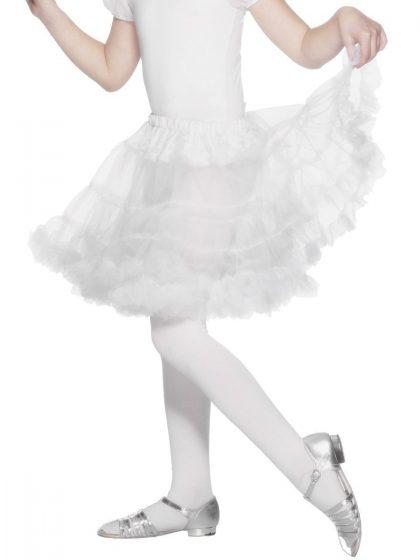 Kids Petticoat White